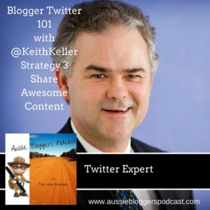keith Keller Aussie bloggers podcast